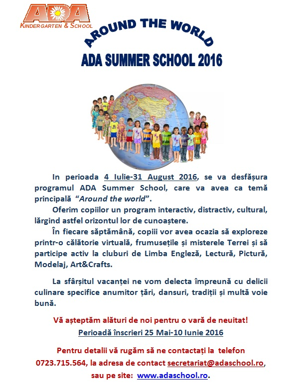 ADA Summer School 2016