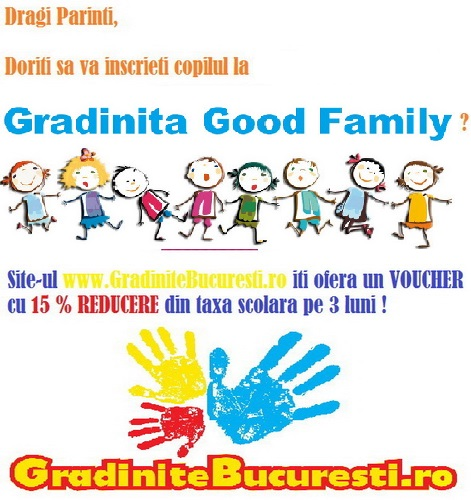 Voucher Gradinita Good Family