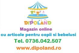 Dipoland.ro ~ Magazin online cu articole pentru copii si bebelusi
