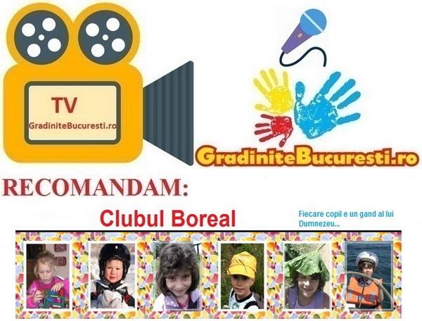 TV-GradiniteBucuresti.ro RECOMANDA Clubul Boreal
