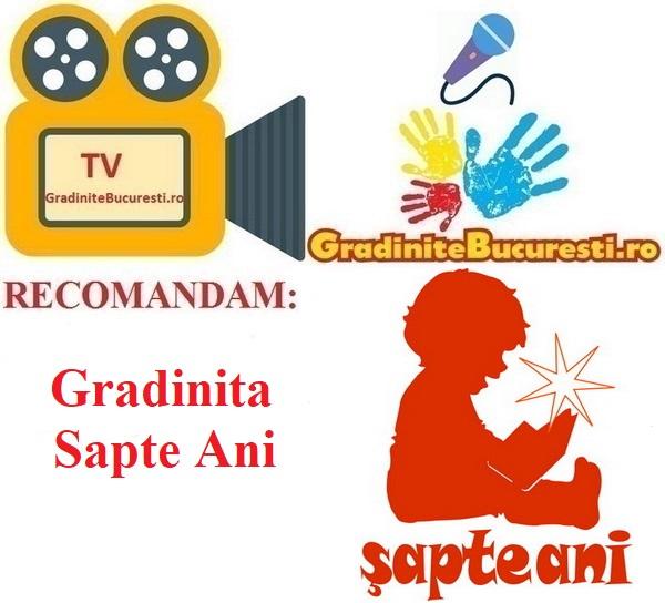 TV-GradiniteBucuresti.ro RECOMANDA Gradinita Sapte Ani