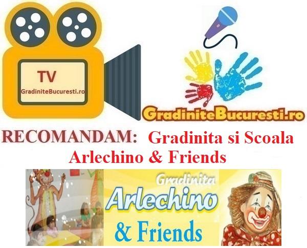 TV-GradiniteBucuresti.ro RECOMANDA Gradinita Arlechino & Friends
