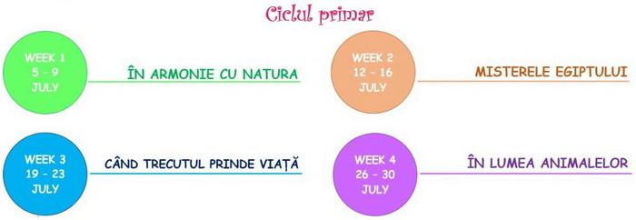 coala Primara & Gimnaziala - Pro Ingenio ~ SUMMER SCHOOL