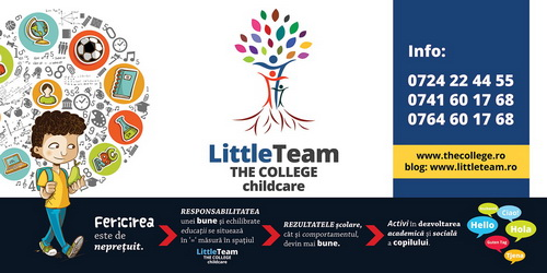 Gradinita Little Team THE COLLEGE childcare
