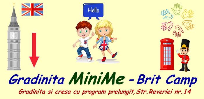 Gradinita Mini Me Brit Camp