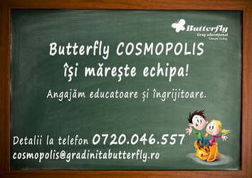 Gradinita Butterfly - Cosmopolis