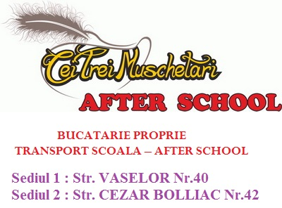 After School ~ Cei Trei Muschetari