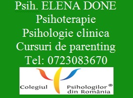 Elena Done - Psihoterapeut, psiholog clinician si trainer