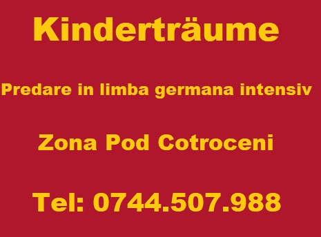 Kindertraume - Predare in limba germana intesiv